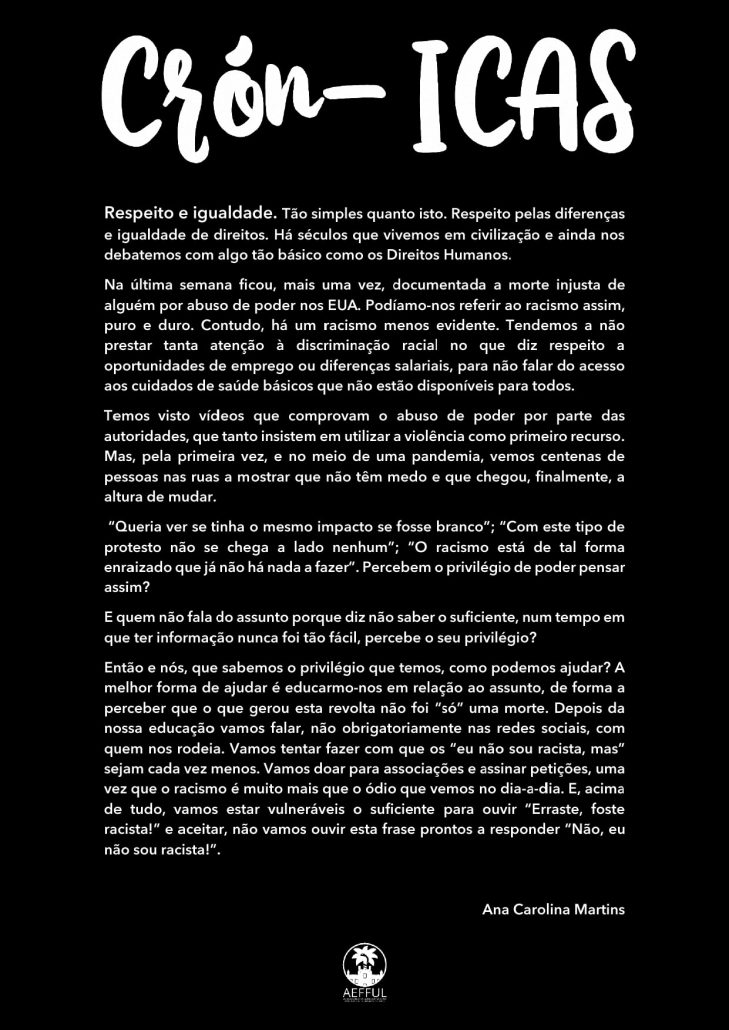 Crónica - Racismo -min